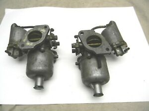 1962 67 63 64 65 66 Mgb Mgb Gt Hs4 Original Dual Twin Su Carburetors Aud52f