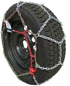 Snow Chains 225 75r17lt 225 75 17lt Tuv Diamond Tire Chains Set Of 2