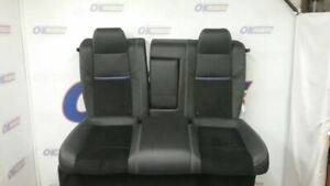 2013 13 Dodge Challenger Srt8 Rear Seat Black Leather With Purple Trim