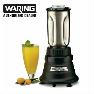 Waring Bb150s 1 2 Hp Commercial Blender Stainless Steel 32 oz Container