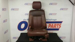 13 Ford F150 King Ranch Front Driver Left Power Heated Seat Brown Leather