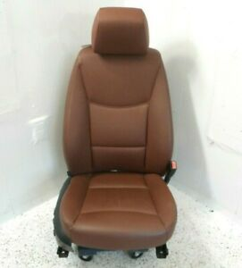 06 Bmw 330i Sdn Front Passenger Right Seat Electric W O Sport Oem Leather Brown