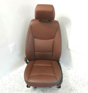 06 Bmw 330i Sedan Front Driver Left Seat Electric W O Sport Oem Leather Brown