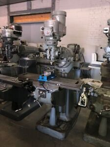 Bridgeport Milling Machine Vari Speed Power Feed 9x 42