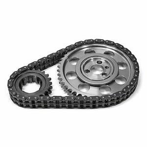 Scorpion Small Block Chevy Double Roller Timing Chain Set Sbc 327 350 383 400