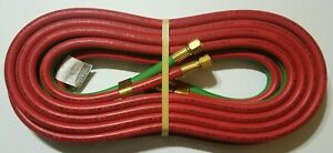 25 X 1 4 Twin Welding Torch Hose Oxygen Acetylene Victor Smith Harris Grade Rm