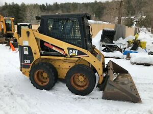 2000 Cat 226 Skid Steer Loader Cab With Heat