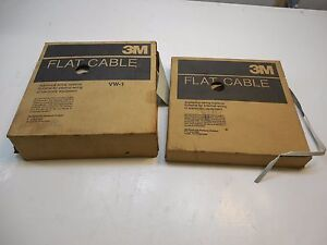 3m Appliance Wiring Lot Flat Cable 3365 34sf 3365 10sf