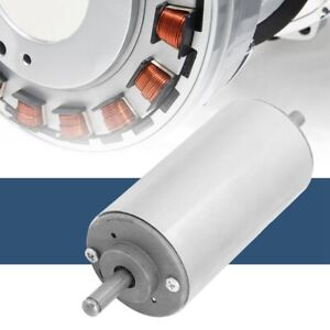 12 48vdc 400w High Speeds Air Cooled Chromeplate Spindle Motor Torque500mn m