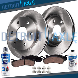 Rear Brake Rotors Ceramic Pads Buick Enclave Chevy Traverse Gmc Acadia Outlook