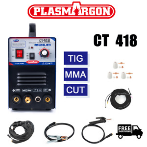 Ct312 ct312 Pilot Arc Tig mma cut Air Plasma Cutter Welding Machine 110 220v Us