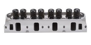 Edelbrock 5027 E 205 Cylinder Head Small Block Ford W 2 08 In Intake Valves