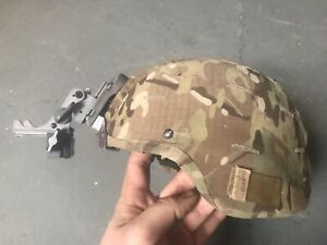 US Army MSA Gallet ACH TC 2000 Helmet -W NOROTOS NVG Mount & Cover MICH