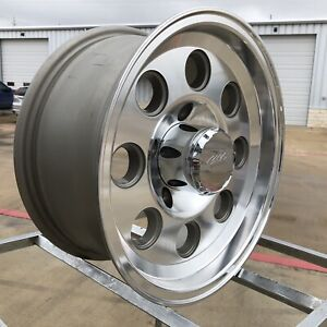 Mb Motoring 15x7 Wk335 Mbm W72 Wheels Machined And Silver Et 0 5x139 7 69251