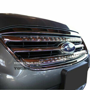 2pc Chrome Grille Insert Factory Style For 2010 2012 Ford Taurus