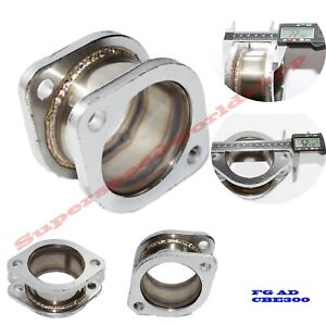 Catback Exhaust Muffler Pipe 2 9 Extension Flange Steel Adapter 3 2bolt Flange