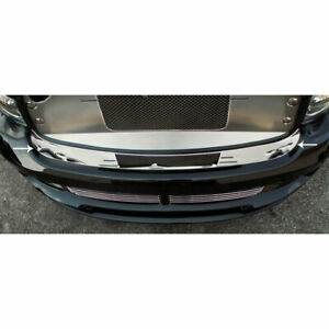 Front Bumper Cap For 2004 2005 Dodge Ram 1500 Srt 10 Stainless Steel Polished