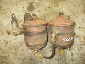 Ih Farmall 560 706 656 Diesel Fuel Filiter Assembly Antiquetractor
