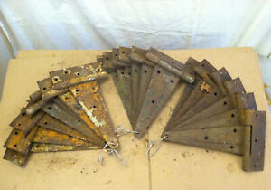 One 12 Vintage Antique T Strap Barn Door Hinge Rustic Farmhouse 19 Available