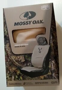 Mossy Oak Khaki Universal Camo Lowback Seat Cover Break Up Country