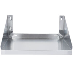 Cmi Commercial Stainless Steel Wall Mount Microwave Shelf 18 x24