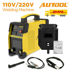 Autool 20 160a Handheld Welding Machine Ewm 508 Arc Inverter Welder Igbt 110v