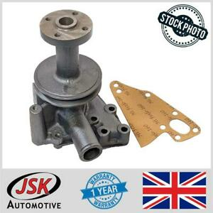Water Pump With Pulley Gasket For Ford 1500 1700 1900 Compact Series Tractors