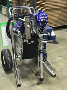 Finishpro Ii 395 Pc Air assisted Airless Sprayer Graco 17c417 Refubished