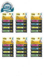 Post it Arrow Flags Assorted Bright Colors 1 2 inch Wide 24 dispenser