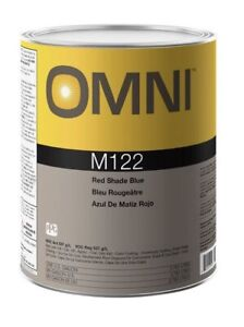New Ppg Omni M122 Red Shade Blue Gallon Tint Toner Automotive Paint Supplies