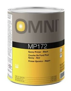 New Ppg Omni Mp172 Epoxy Primer Black Gallon Automotive Paint Supplies Mp 172