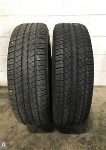 1x Take Off P265 70r17 Goodyear Wrangler Hp 10 11 32 Used Tire