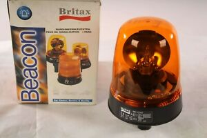 New 392 00 Britax Amber Rotating Beacon Pole Mount