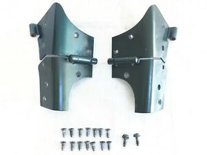 97 06 Jeep Wrangler Tj Windshield Hinges Bolts Frame Hinge Pair Moss Green