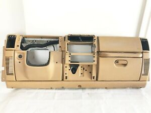 Saddle Tan 97 00 Jeep Tj Wrangler Dash Assembly Set Factory Dashboard 98