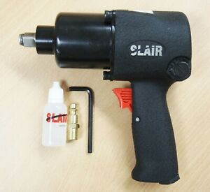 Slair 1 2 Twin Hammer Professional Air Impact Wrench Max Torque 950ft Lb Xx 231
