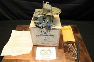 Nos Holley 1929 2bbl Carburetor For 1959 Mercury W Y block 312 Ci Engine