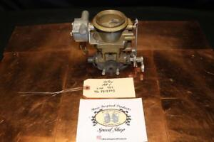 Nos Holley 2bbl Carburetor Model Aa 1 For Gmc Truck 2312373