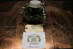 Nos Rochester 2gc 2jet Carburetor For 1972 Chevrolet W 307 7042100