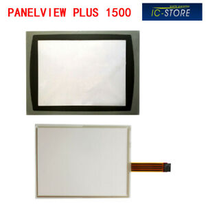Allen Bradley Panelview Plus 1500 2711p rgt15 Touch Screen Digitizer Cover