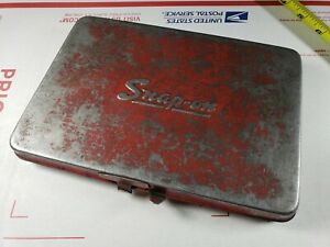 Vintage Snap On Kra275 Tool Box For Sockets Ratchets Extensions 8 5 X 5 75