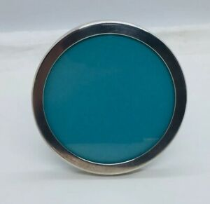 Tiffany Co Vintage Authentic Sterling Silver Round Picture Frame