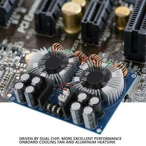 Xh m254 Tda8954th Dual Core 2 420w Digital Audio Power Amplifier Board With Fan