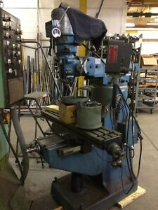Bridgeport Series I 2 hp Vertical Milling Machine