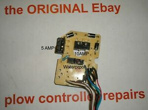 Exact Fit Switch For Fisher 6 Pin Joystick Plow Controller 56369 Rev 6