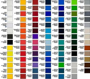 Avery Vinyl A9 Series colors Listed In Description Vehicle Wrap