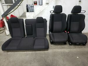 2015 2018 Dodge Challenger Srt Oem Front Rear Seats Cloth Power