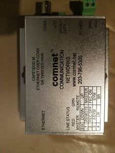Comnet Cnfe1eoc m Ethernet To Coax twisted Pair Converter