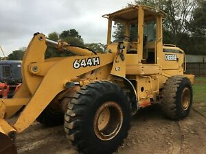 2000 Deere 644h Wheel Loader 8891 Hours