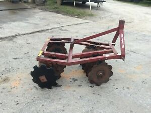 Very Nice Leinbach 3 Point Hitch 4 Ft Disc